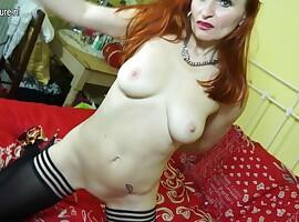 Sexy mature mother from GB